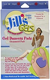 Gel Dancer\'s Pads (Right Foot) by Dr. Jill\'s Foot Pads, 4 Pack