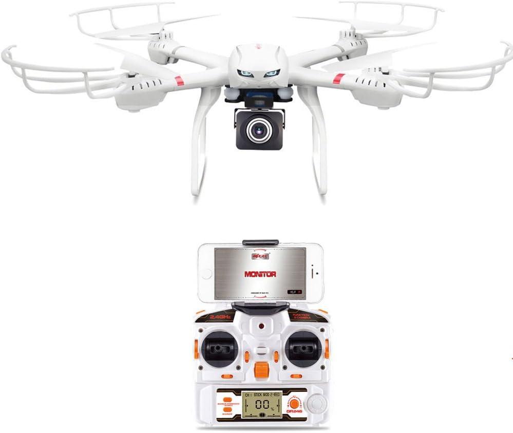 Goolsky MJX X101 2.4G 4CH 6 Axis Gyro Wifi FPV RC Quadcopter con MJX C4008 720P aerea Camera Componenti