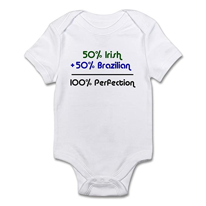 Amazon.com: CafePress – irlandés y brasileño bebé – Body ...