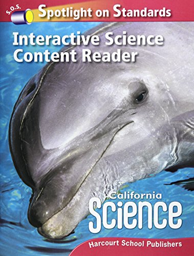 Harcourt School Publishers Science: Interactive Science Cnt Reader Reader Student Edition Science 08 Grade 2