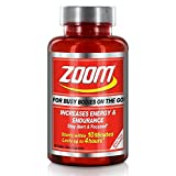 Zoom Energy, Increasing Energy & Endurance up to 4 hours, Containing Jitter Free Formula, 60 Tablets
