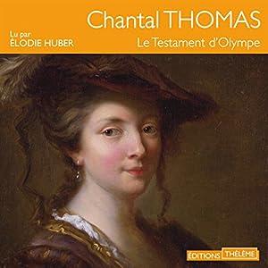 Le testament d'Olympe | Livre audio