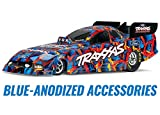 Traxxas 1 8 Funny Car Dragster Special Edition Blue Anodized 69087-4