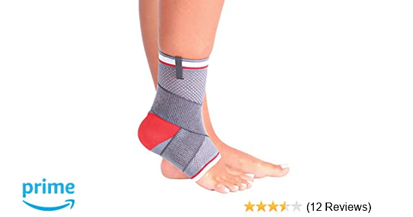 bcf55c5a88 Amazon.com: ORTONYX Ankle Support Brace Compression Sleeve, Plantar  Fasciitis Compression Sock with Arch Support Achilles Tendon - Eases  Swelling and ...