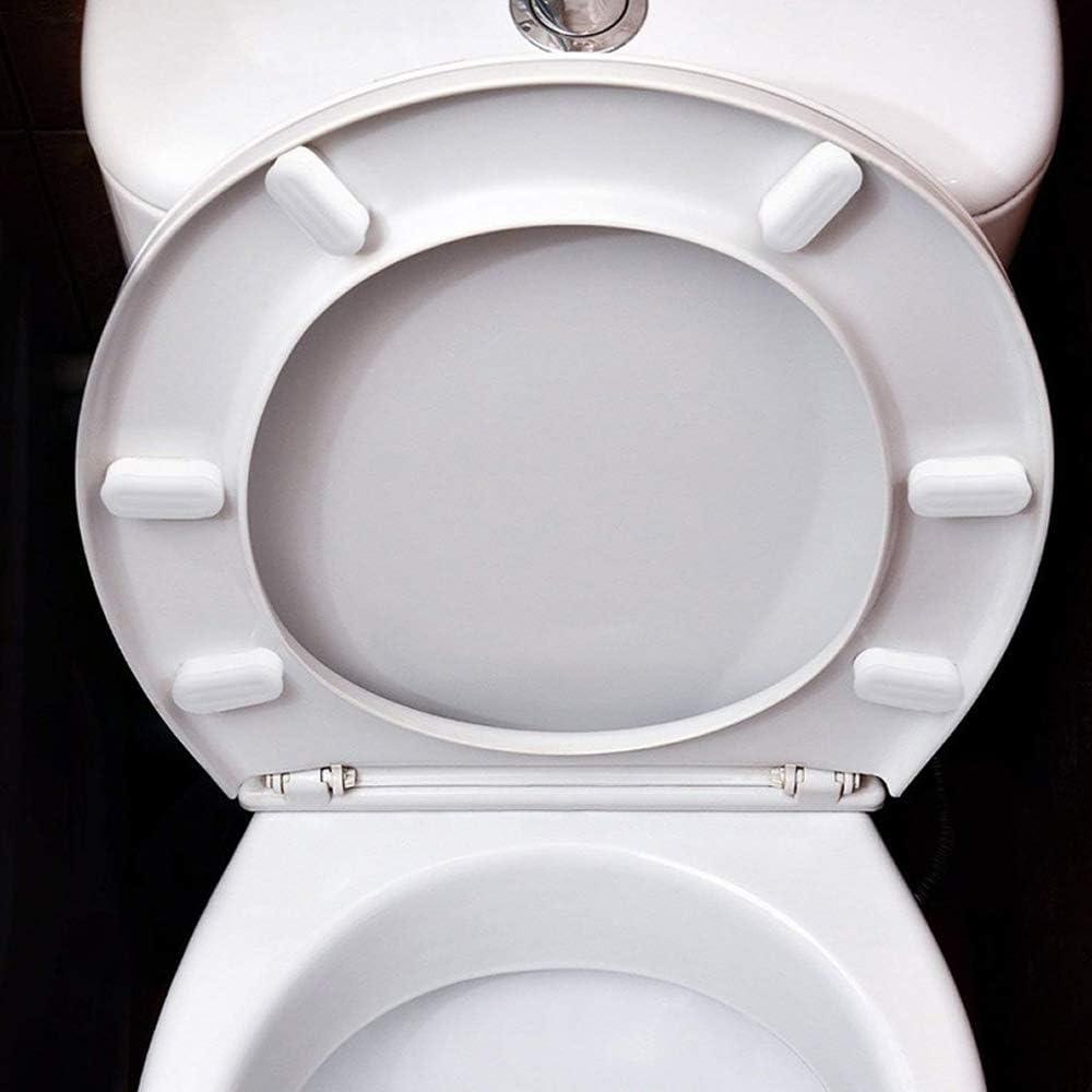 Plastic Toilet Seat New Home Improvement Fixtures Replacement Bumpers