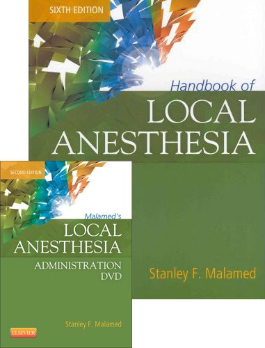 Handbook of Local Anesthesia - Book and DVD Package, 6e by imusti