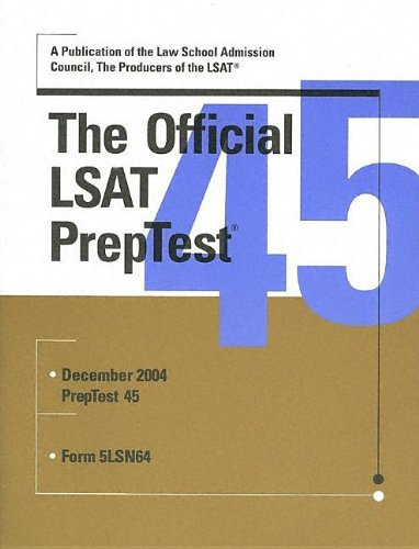 The Official LSAT PrepTest 45