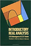 img - for Introductory Real Analysis (Dover Books on Mathematics) 1st edition by A. N. Kolmogorov, S. V. Fomin (1975) Paperback book / textbook / text book