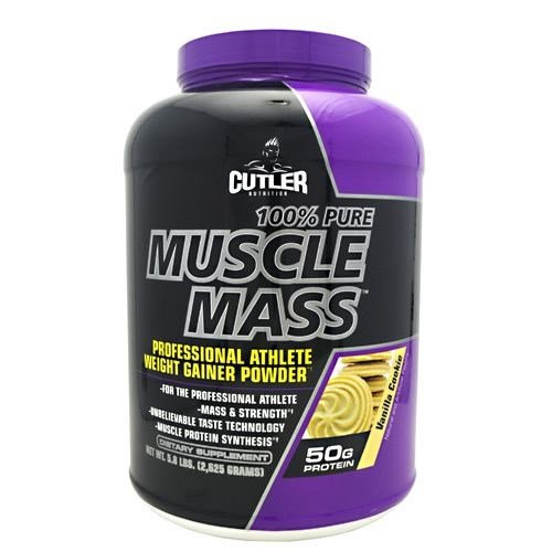 Cutler Nutrition Cutler Nutrition Muscle Mass, Vanilla Cookie, 5.8 lb by Cutler Nutrition