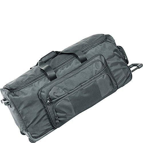 "Netpack 30"" Ultra Deluxe Wheeled Duffel (Black)"