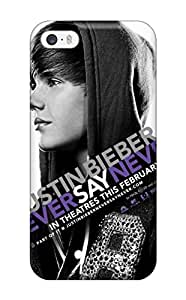 Awesome Case Cover/iphone 5/5s Defender Case Cover(artistic Justin Bieber Never Say Never)