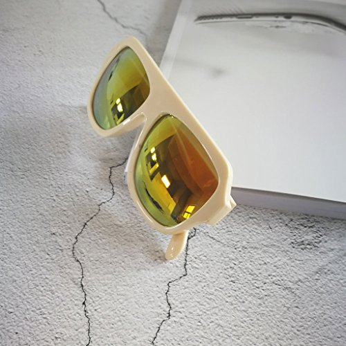 Sol crema MagiDeal Libre Bloque Crema Aire Sunglass de de Retro Ciclismo para Deporte Gafas Helm Al tZUwqZR