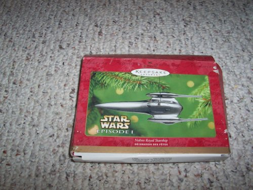 2001 Hallmark Ornament Star Wars Episode 1 Naboo Royal (Naboo Star)