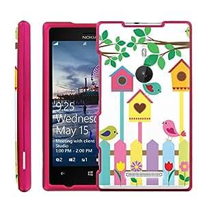 [ManiaGear] Design Graphic Image Shell Cover Hard Case (Birds House) for Nokia Lumia 925