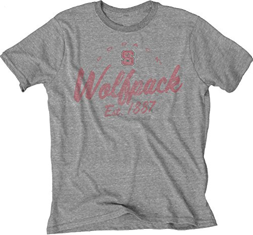 NCAA North Carolina State Wolfpack Men's Tri-Blend T-Shirt, Heather, X-Large