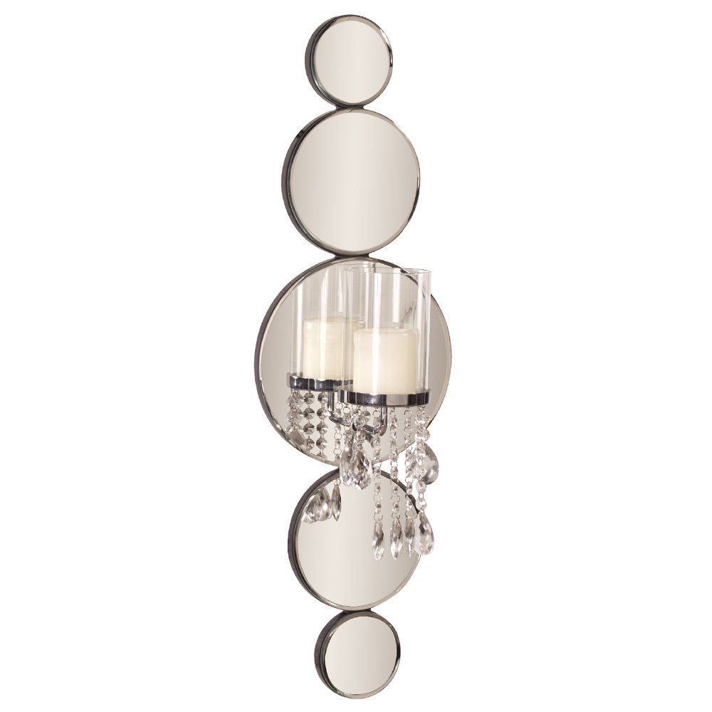 Howard Elliott Mirrored Wall Sconce Accent Piece, 31 x 10 Inch, 99042 by Howard Elliott Collection (Image #1)