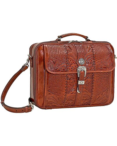 american-west-unisex-leather-laptop-briefcase-mocha-one-size