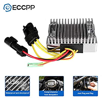 ECCPP Voltage Regulator Rectifier Fit for 2010-2014 Polaris Ranger 400 2010-2012 Polaris Scrambler 500 2011-2014 Polaris Sportsman 400 4012192 Rectifier Regulator: Automotive