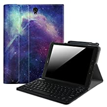 "Fintie Samsung Galaxy Tab S3 9.7 Keyboard Case, Smart Slim Shell Stand Cover with S Pen Protective Holder Detachable Wireless Bluetooth Keyboard for Tab S3 9.7"" 2017 (SM-T820/T825/T827), Galaxy"