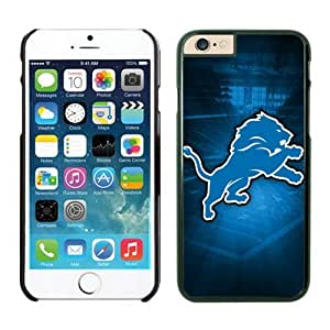 Detroit Lions iPhone 6 Cases 15 Black 4.7 inches-[Non-Slip] [Exact-Fit] Lifetime Warranty,easily install with maximum protection,Ultra Fit Hard Case Shock-Absorption Bumper with Anti-Scratch Hard Case for iphone 6