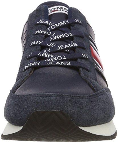 Tommy Casual RWB Azul Jeans Ink 006 Sneaker para Zapatillas Retro Hombre r66fwq