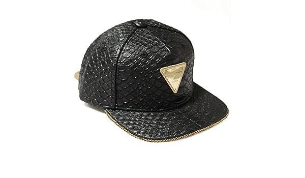Hater Full Snakeskin Gold Chain Strapback Hat - Gorra para niño ...