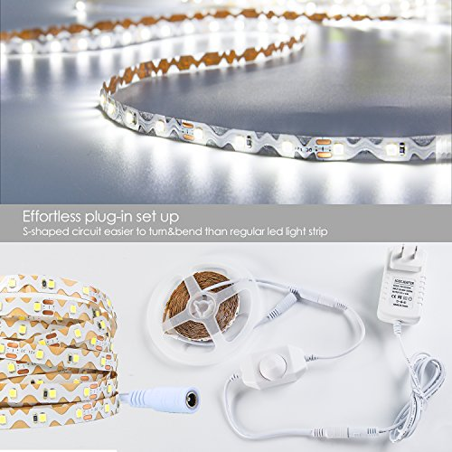 Yihong Dimmable Led Strip Lights Kit164ft 300 Leds Ribbon Import