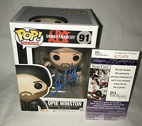 Ryan Hurst Signed / Autographed Opie Winston Sons of Anarchy Funko Pop Toy Doll Figurine - JSA Certified (Ryan Jersey Replica)