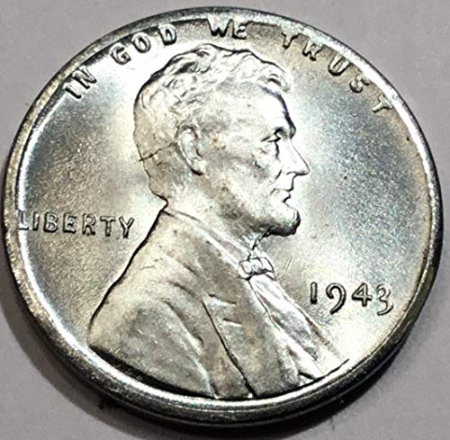 - 1943 Lincoln Wheat Penny Brilliant Uncirculated