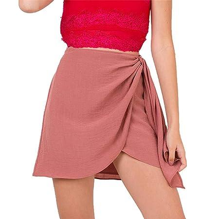 Hoverwin - Minifalda de Verano para Mujer, Falda de Fiesta, Falda ...