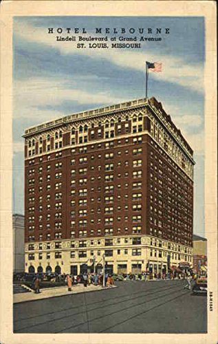 Hotel Melbourne, Lindell Boulevard at Grand Avenue St. Louis, Missouri Original Vintage - Melbourne Avenue The