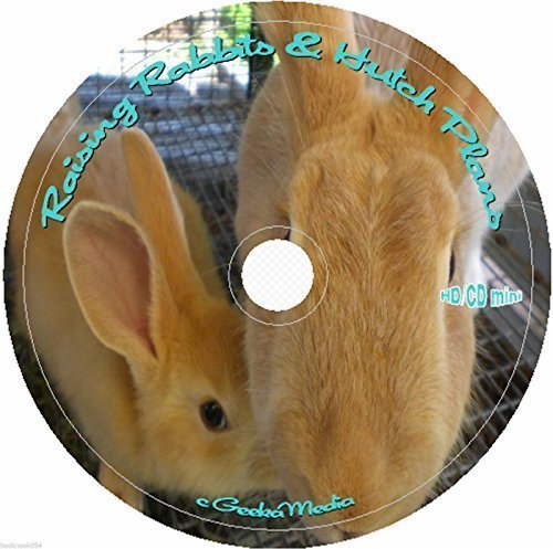 Rabbit Production and Hutch Plans 28 Books 36 Guides on cd homesteading survival