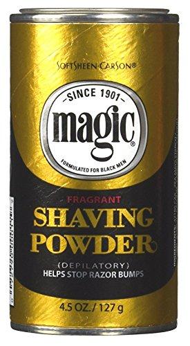 Magic Fragrant Shaving Powder Gold 4.5 Ounce (127g) (3 Pack)