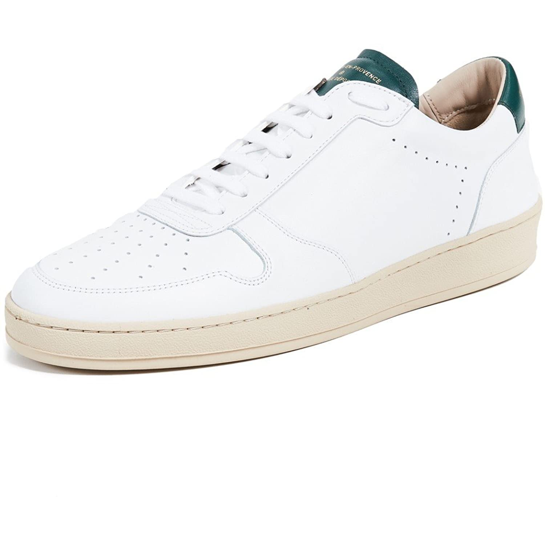 (ゼスパ) Zespa メンズ シューズ靴 スニーカー Leather Sneakers [並行輸入品] B07C7KN2TJ
