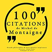 100 citations de Michel de Montaigne | Michel de Montaigne