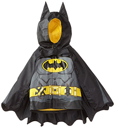 Western Chief Kids D.C. Comics Character lined Rain Jacket, Batman Everlasting, 5