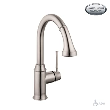 Hg Talis C Prep Kitchen Faucet W Pull Down 2 Spray Touch On