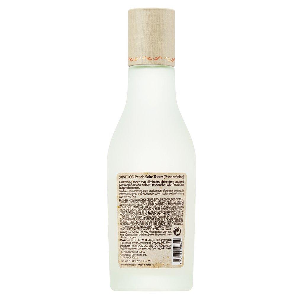 Skin Food Peach Sake Toner, 3.2 Ounce