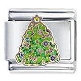Christmas Tree Italian Charm Fits Nomination Classic