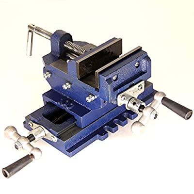 HFS (R) 2 Way Drill Press X-Y Compound Vise Cross Slide Mill