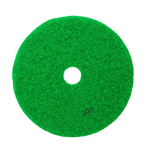 3'', 4'' Diamond Polishing Pad Grinding Disc for Granite Marble Concrete Stone - 300#, 3 3' Diamond Polishing Pad