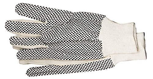 96 x Arbeitshandschuhe Baumwolle Easy Grip genoppt XL mit genoppter Handinnenfläche, CE Cat I, EN 420