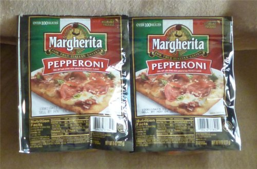 (Margherita Very Best Top Rated Pepperoni Slices (2 Pack))