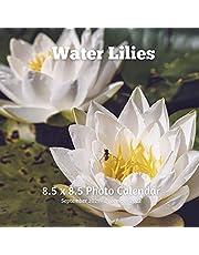 Water Lilies 8.5 X 8.5 Calendar September 2021 -December 2022: Monthly Calendar with U.S./UK/ Canadian/Christian/Jewish/Muslim Holidays- Lotus Flowers Tropical Nature
