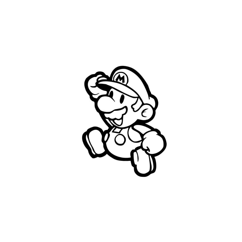 Mushroom   Super Mario Brothers Decal Sticker
