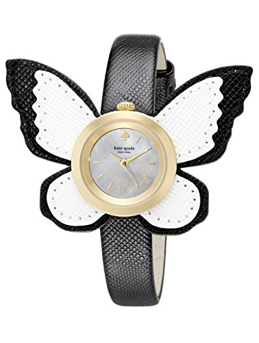 kate spade new york Women's 1YRU0810 Novelty Analog Display Japanese Quartz White Watch