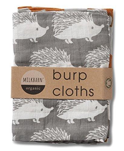 Organic Cotton Burp Cloths - 7