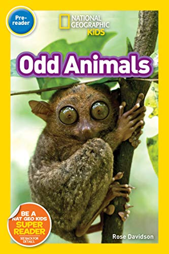 Book Cover: National Geographic Readers: Odd Animals