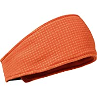 Turtle Fur Double-Layer Midweight Polartec Thermal Pro Grid Headband, Ultra Violet/Nightshade, One Size