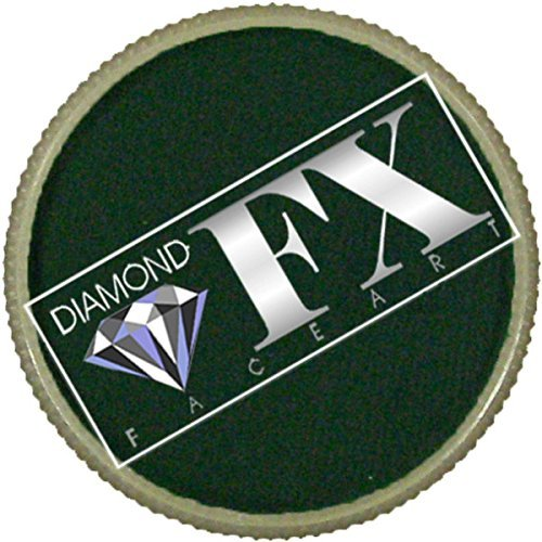 Diamond FX Face Paint Essential 32g Dark Green by Diamond FX